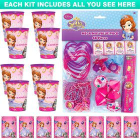 Sofia The First Favor Kit (For 8 Guests)