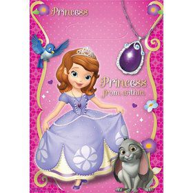 Sofia the First Favor Lootbags (8 Pack)
