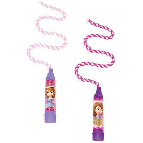 Sofia the First Jump Rope Favors (8 Pack)
