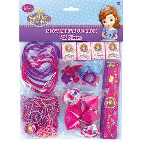Sofia the First Mega Mix Favor Pack (For 8 Guests)