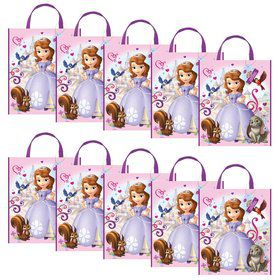Sofia The First Party Tote Bag (Set of 10)