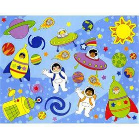 Solar System Sticker Scene (12-pack)
