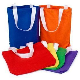 Solid Favor Tote (12 pack)