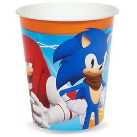 Sonic Boom 9 oz. Paper Cups