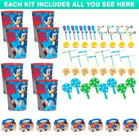 Sonic Boom Favor Kit (For 8 Guests)