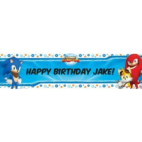 Sonic Boom Personalized Banner (Each)