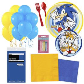 Sonic Party Essentials Kit Serves 16