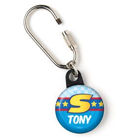 "Sonic Personalized 1"" Carabiner (Each)"