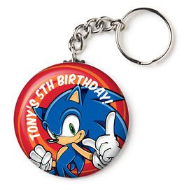 """Sonic Personalized 2.25"""" Key Chain (Each)"""