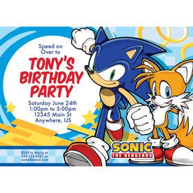 Sonic Personalized Invitation (Each)