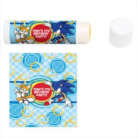Sonic Personalized Lip Balm (12 Pack)