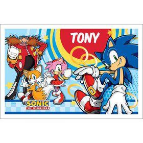 Sonic Personalized Placemat (Each)