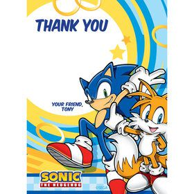 Sonic Personalized Thank You (Each)