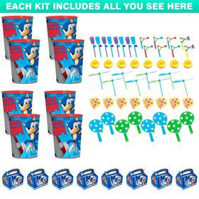 Sonic the Hedgehog Favor Kit (For 8 Guests)