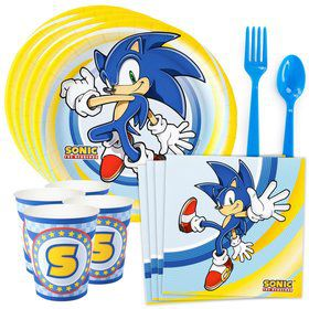 Sonic the Hedgehog Standard Tableware Kit (Serves 8)