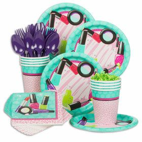 Spa Birthday Party Standard Tableware Kit (Serves 8)