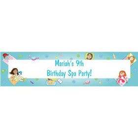 Spa Day Personalized Banner (each)