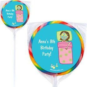 Spa Day Personalized Lollipops (pack of 12)