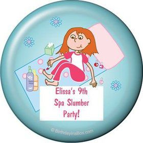 Spa Day Personalized Magnet (each)