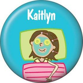 Spa Day Personalized Mini Magnet (each)