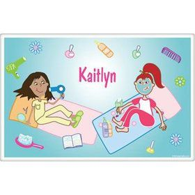 Spa Day Personalized Placemat (each)