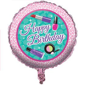"Spa Party 18"" Foil Balloon"