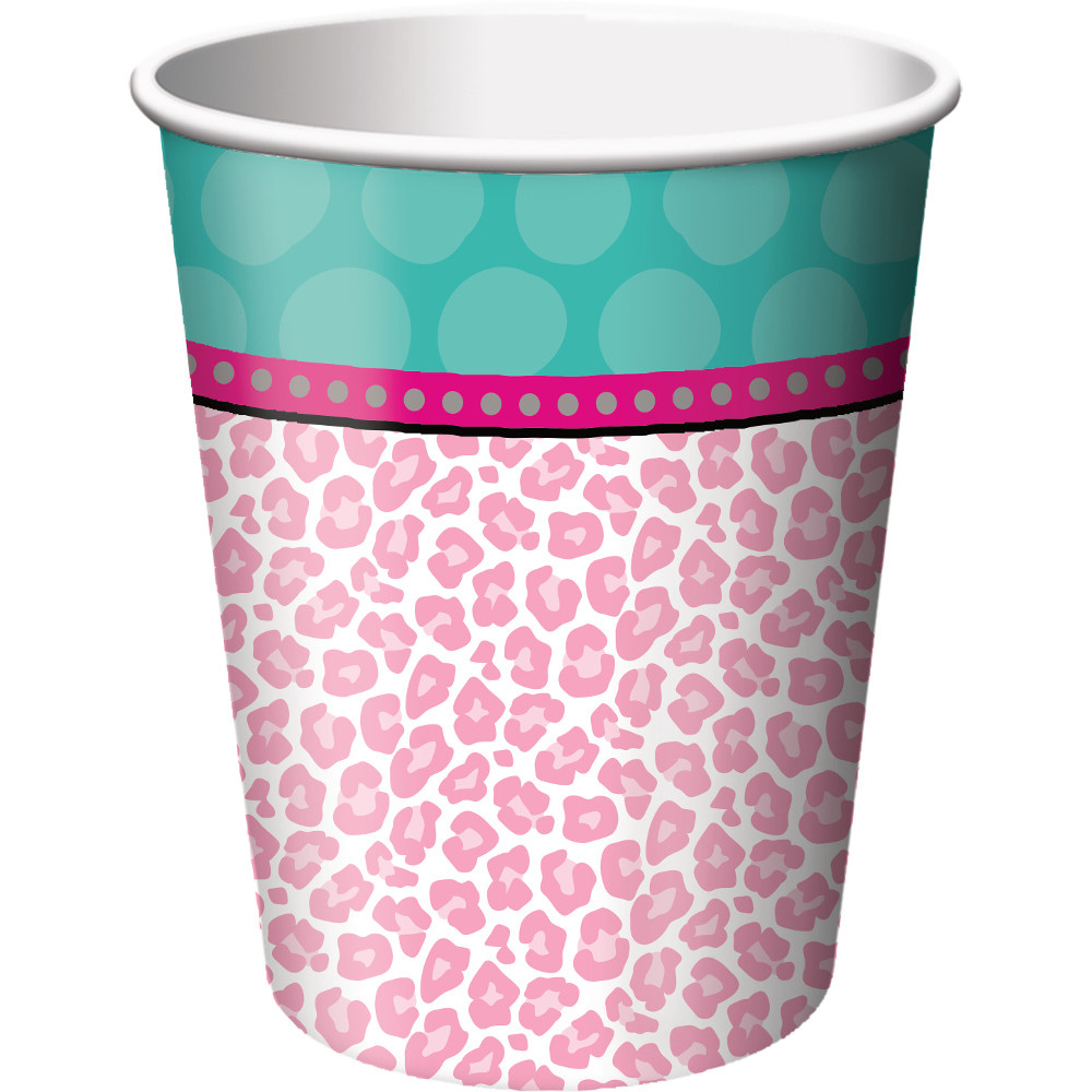 Spa Birthday Party Supplies 9 oz. Cups (8 Count) BB317280