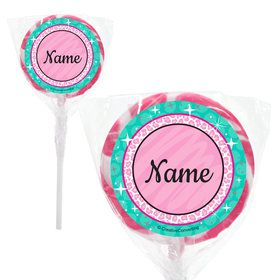 "Spa Party Personalized 2"" Lollipops (20 Pack)"