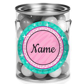 Spa Party Personalized Mini Paint Cans (12 Count)