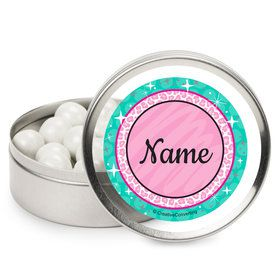 Spa Party Personalized Mint Tins (12 Pack)