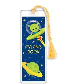 Space Alien Personalized Bookmark (each)