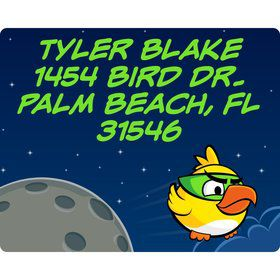 Space Birds Personalized Address Labels (Sheet of 15)