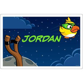 Space Birds Personalized Placemat (Each)