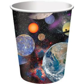 Space Blast 9oz Cups (8 Pack)