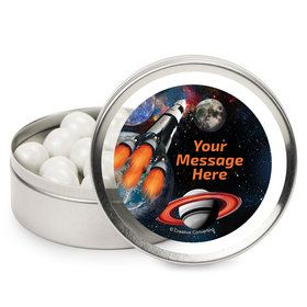 Space Blast Personalized Mint Tins (12 Pack)