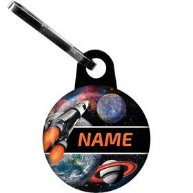 Space Blast Personalized Zipper Pull (Each)