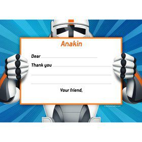 Space Clone Personalized Thank You Note