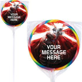 Space Force Personalized Lollipops (12 Pack)