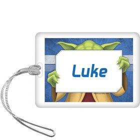 Space Knight Personalized Bag Tag (each)