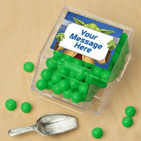 Space Knight Personalized Candy Bin with Candy Scoop (10 Count)