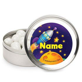 Space Personalized Candy Tins (12 Pack)