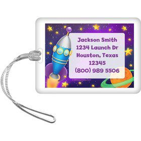 Space Personalized Luggage Tag (each)