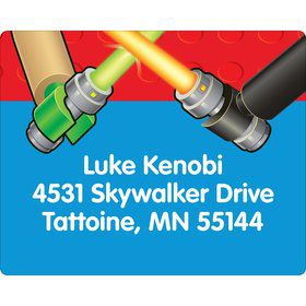 Space Toys Personalized Address Labels (Sheet of 15)