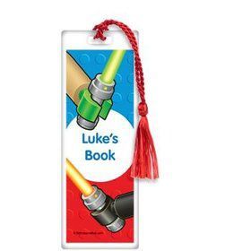 Space Toys Personalized Bookmark (each)