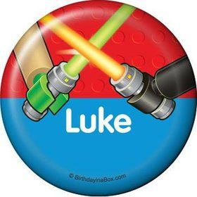 Space Toys Personalized Button (each)