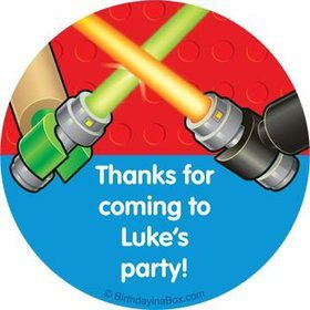 Space Toys Personalized Stickers (sheet of 12)