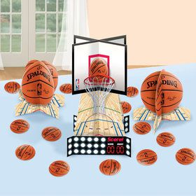 Spalding Basketball Table Decorating Kit