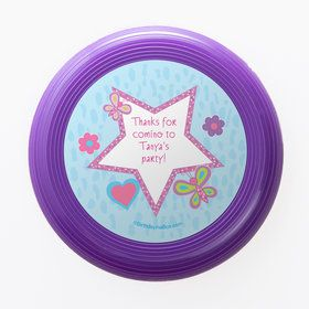 Sparkle Butterfly Personalized Mini Discs (Set of 12)
