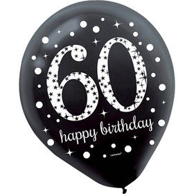 Sparkling Celebration 60th Birthday Balloons (15)