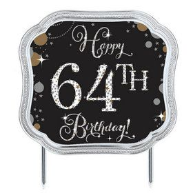 Sparkling Celebration Add-any-Age Cake Topper